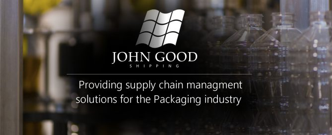 Sea freight supply chain management for the packaging industry