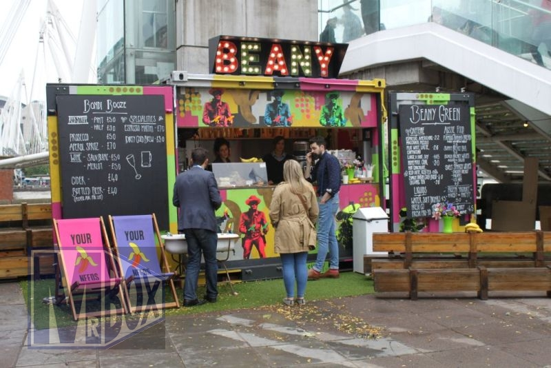 Shipping Container Cafe Bar Conversion
