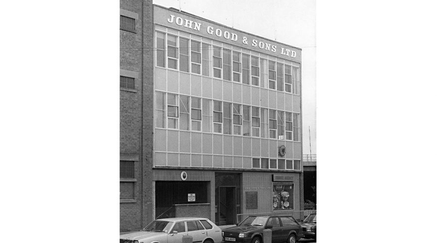 John Good head office from 1960