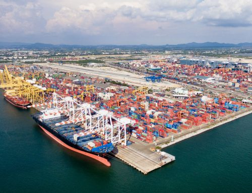 What is port-centric logistics?