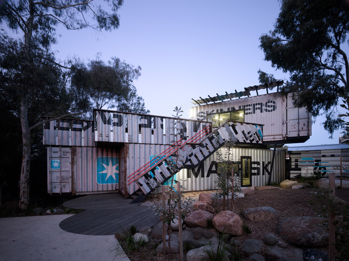 Shipping Container Activity Centre