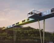 Shipping Container Bridge