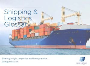 Shipping terms glossary