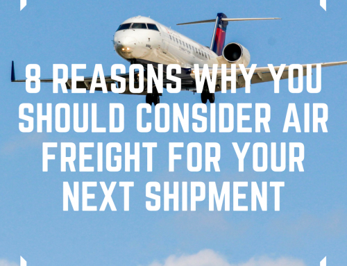 8 Reasons why you should consider Air Freight for your next shipment