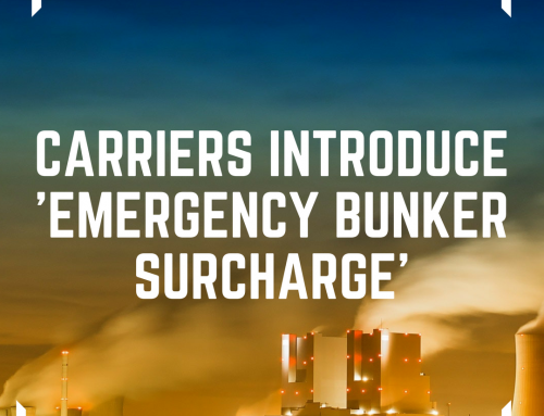 Carriers Introducing 'Emergency Bunker Surcharge'