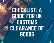 Image of checklist a guide for UK Customs Clearance of Goods