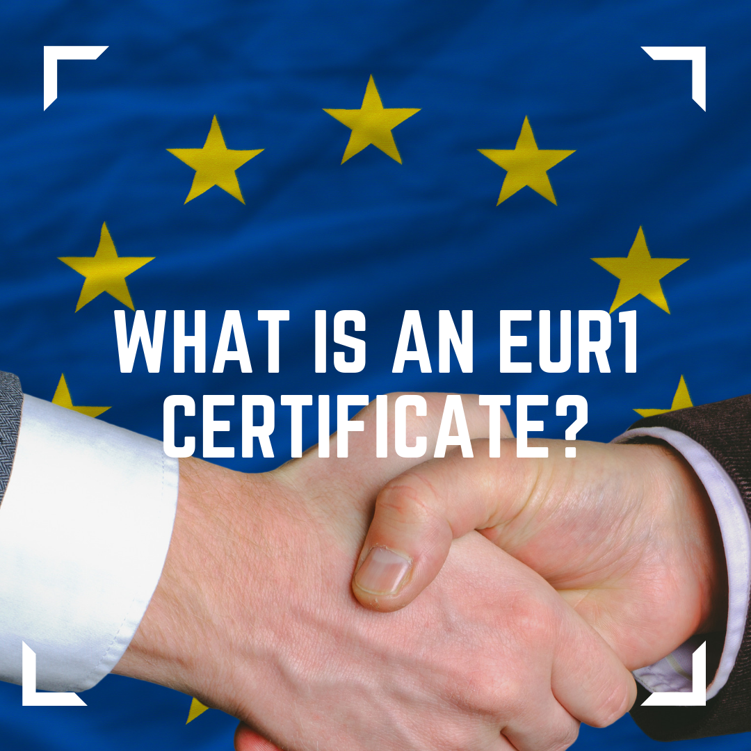 What is an EUR1 certificate