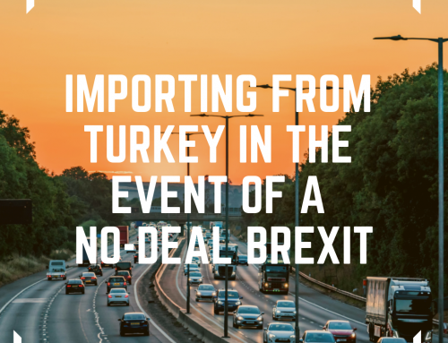 Importing from Turkey in the event of a No-Deal Brexit