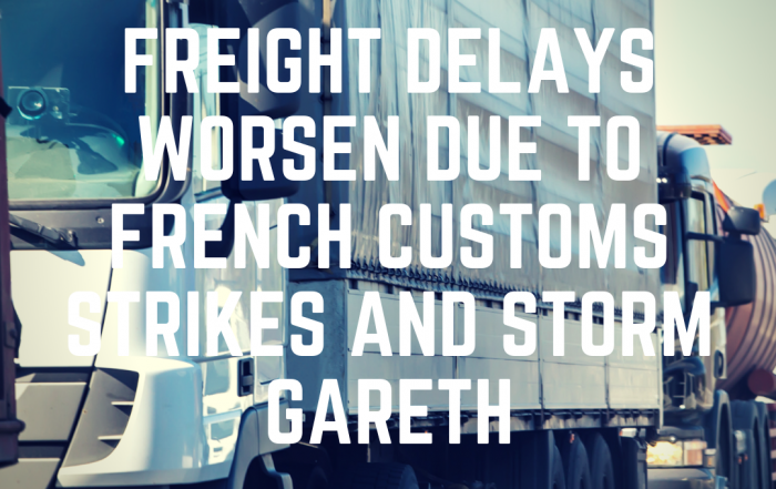 Delays at Calais and Storm Gareth
