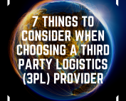 image of 7 things to consider when choosing a third party logistics 3PL provider on top of the world