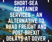 Image of short-sea container services map of europe