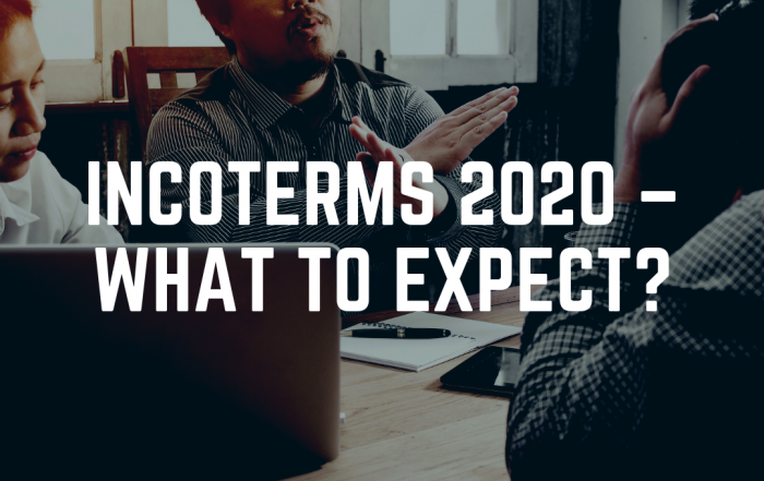 Incoterms 2020 - what can we expect? Here depicted is a discussion between businesses not working out.