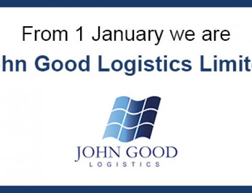 We are John Good Logistics Limited from 1 January 2020