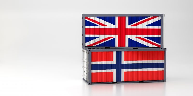 Importing and exporting between the UK and Norway