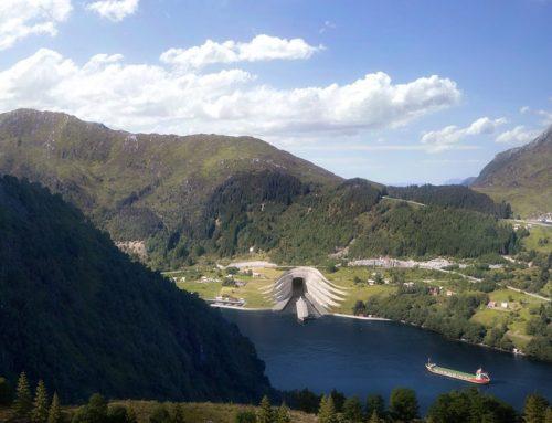 World's first ship tunnel to be built under Norwegian mountains